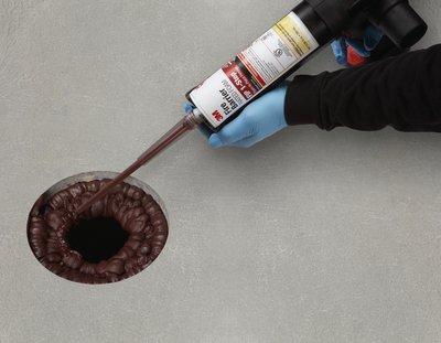 ซิลิโคนยาแนวกันไฟลาม 3M Fire Barrier Rated Foam FIP 1-Step3