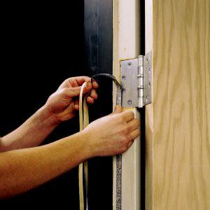 เทปกันไฟ 3M™ Expantrol™ Flexible Intumescent Strip E-FIS, Black, Adhesive-Backed, 1/16 in x 1/2 in x 50 ft, Roll